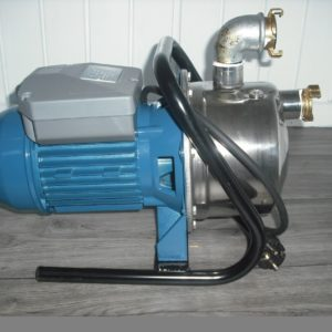 RVS Waterpomp 230 volt op slee