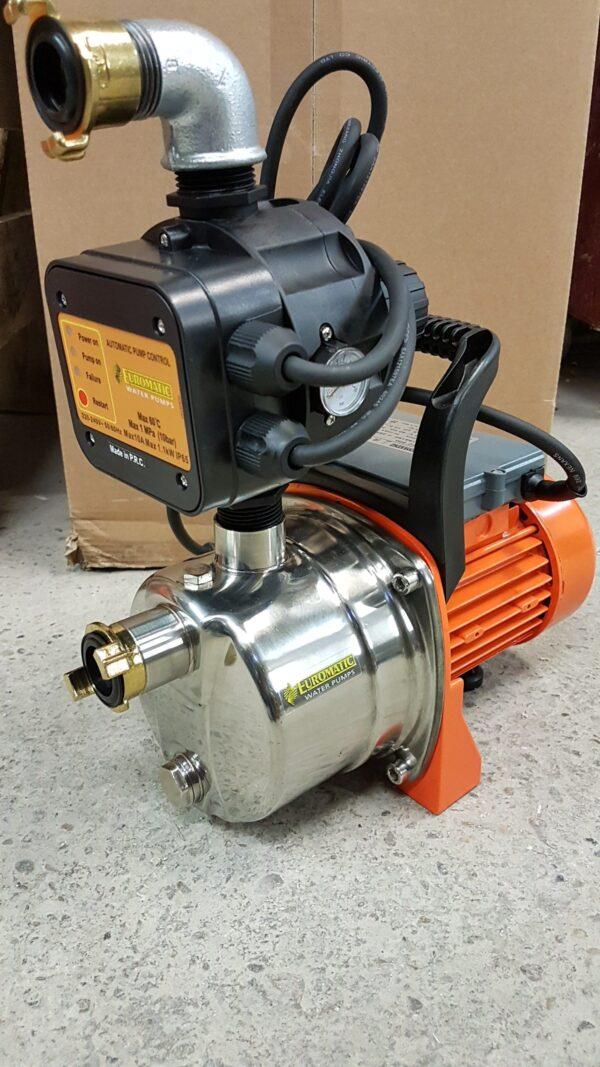 RVS Waterpomp 230 volt op slee