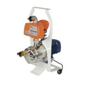 RVS Waterpomp 230 volt op slee GXC 800 met automatischeafslag 3600 l/h tbv PFT Ritmo